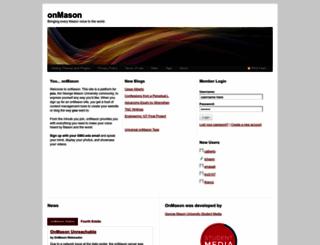 onmason.com screenshot