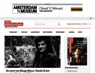 onsamsterdam.nl screenshot