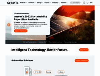 onsemi.jp screenshot