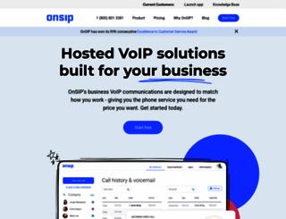 onsip.com screenshot