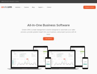 onsitecrm.com screenshot