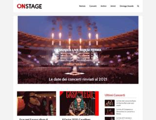 onstageweb.com screenshot