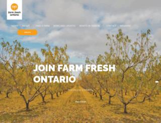 ontariofarmfresh.com screenshot