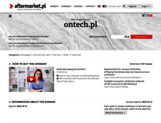ontech.pl screenshot