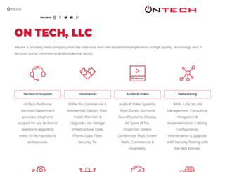 ontechllc.com screenshot