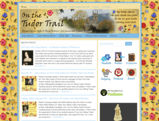 onthetudortrail.com screenshot