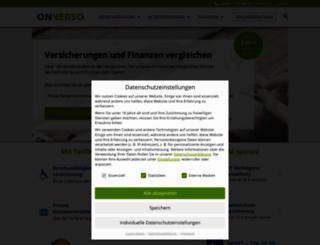 onverso.de screenshot