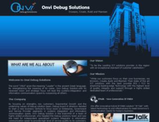 onvidebug.com screenshot