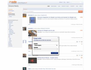 oodle.co.uk screenshot