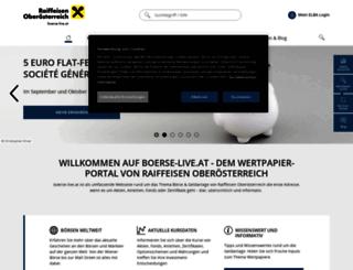 oon-boersespiel.at screenshot