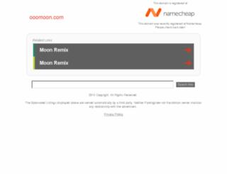 ooomoon.com screenshot