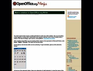 oooninja.com screenshot