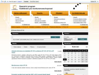 op-vk.cz screenshot