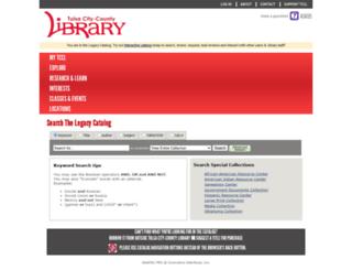 opac.tulsalibrary.org screenshot