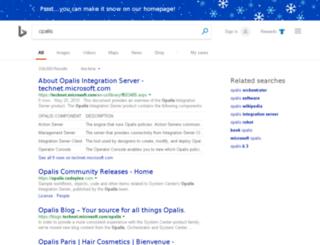 opalis.com screenshot
