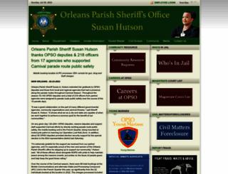 opcso.org screenshot