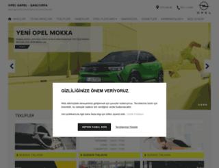 opel.gapel.com.tr screenshot