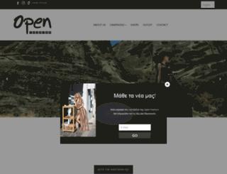 open-fashion.gr screenshot