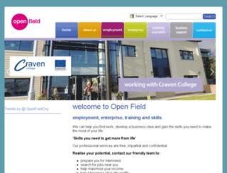 open-field.org.uk screenshot