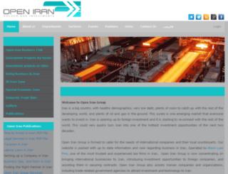 open-iran.com screenshot