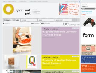 open-output.org screenshot