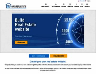 open-real-estate.info screenshot
