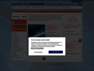 openaccessadvocate.nl screenshot