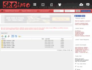 openclient.sroinfo.com screenshot