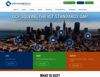 openconnectivity.org screenshot