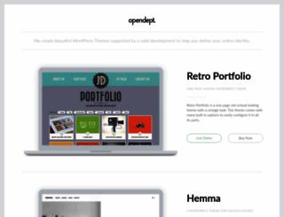 opendept.net screenshot