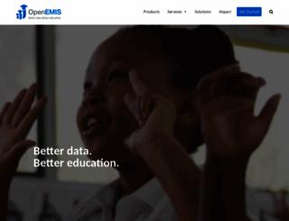 openemis.org screenshot