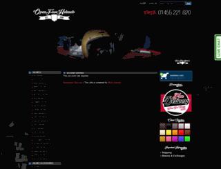openfacehelmets.co.uk screenshot