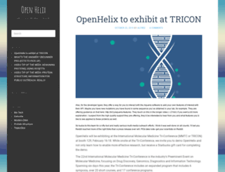 openhelix.eu screenshot