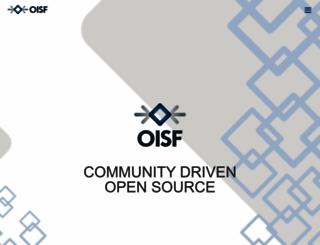 openinfosecfoundation.org screenshot