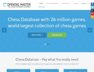 openingmaster.com screenshot