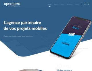 openium.fr screenshot