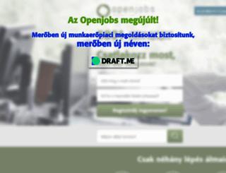 openjobs.hu screenshot