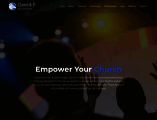 openlp.org screenshot