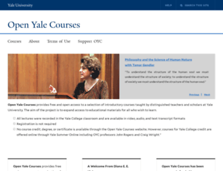 openmedia.yale.edu screenshot