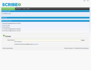 openmind.scribesoft.com screenshot