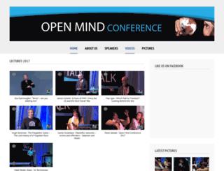 openmindconference.com screenshot