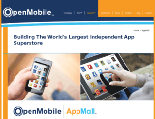openmobileappmall.com screenshot