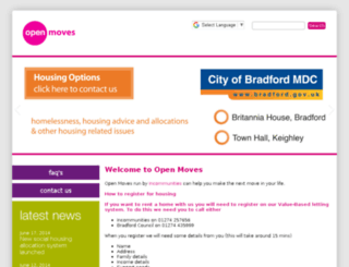 openmoves.co.uk screenshot