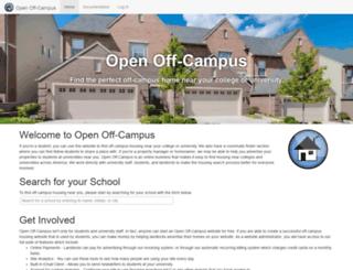 openoffcampus.com screenshot
