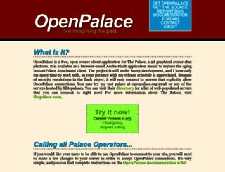 openpalace.net screenshot