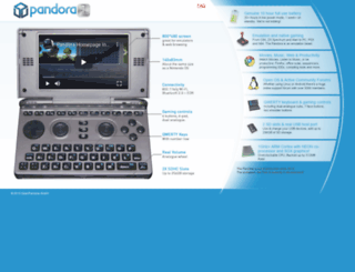 openpandora.de screenshot