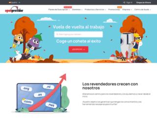 openprovider.es screenshot