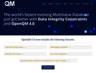 openqm.com screenshot