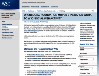 opensocial.org screenshot