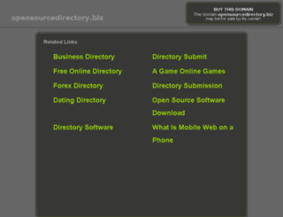 opensourcedirectory.biz screenshot